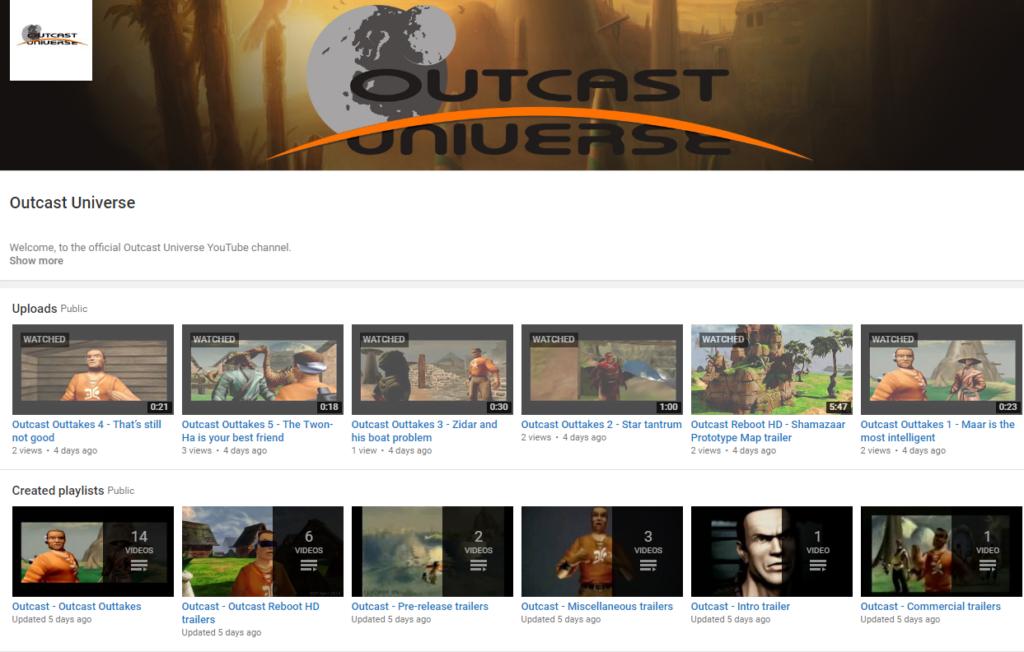 OutcastUniverse-Youtube